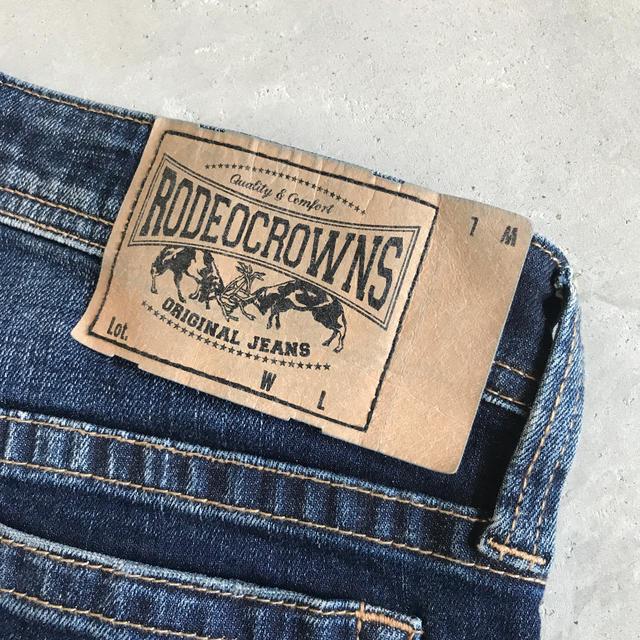 RODEO CROWNS(ロデオクラウンズ)のRODEO CROWNS デニム  25インチ レディースのパンツ(デニム/ジーンズ)の商品写真