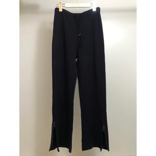 Jil Sander - JIL SANDER side zip pants navy