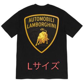 Supreme - 黒 Lサイズ シュプリーム Lamborghini Tee ランボルギーニ