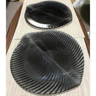 ナハトマン(Nachtmann)のナハトマン マンボ ガラスプレート33cm 2枚 専用!(食器)