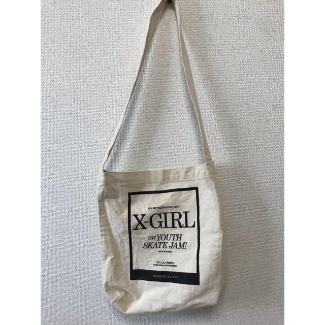 X-girl(エックスガール)のエックスガール トートバッグ レディースのバッグ(トートバッグ)の商品写真
