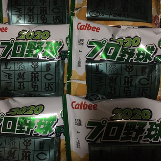 カルビー - プロ野球チップス お菓子のみ