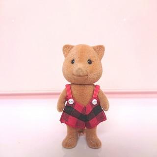 EPOCH - シルバニアファミリー キツネの男の子 シルバニア 人形 初期 おもちゃ レア