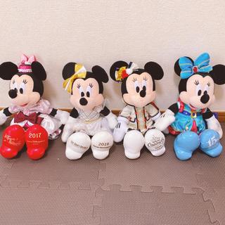 Disney - ミニーマウス ぬいぐるみ