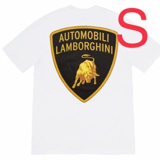 シュプリーム(Supreme)のSupreme Lamborghini Tee Sサイズ White(Tシャツ/カットソー(半袖/袖なし))