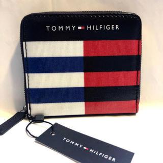 TOMMY HILFIGER - トミーヒルフィガー 折財布 サイフ メンズ アメカジ 新品カード レザーブランド
