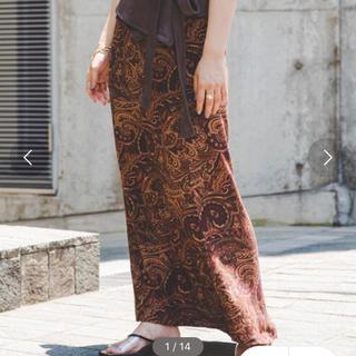 Kastane - kastane ペイズリー柄スカート