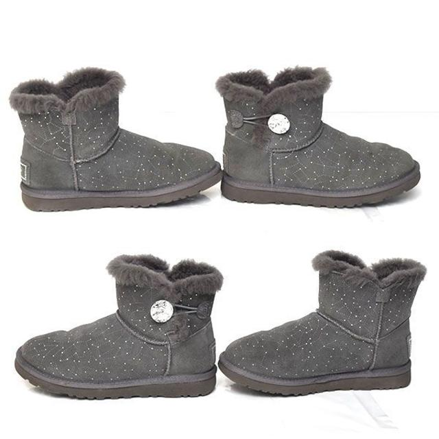 UGG(アグ)のアグ ビジュボタン ショートブーツ USA5(約22cm) レディースの靴/シューズ(ブーツ)の商品写真