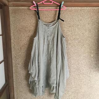 Avail - 4L ピンタックジャンパースカート