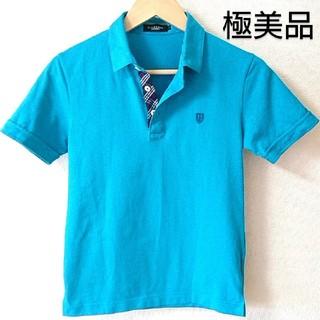 バーバリーブラックレーベル(BURBERRY BLACK LABEL)の🖤デザインポロシャツ🖤極美品🖤(ポロシャツ)