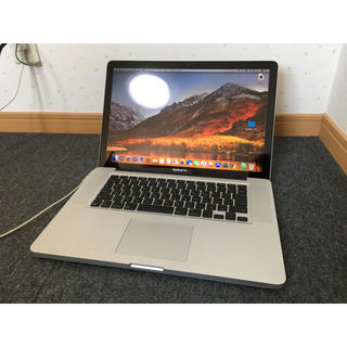 Mac (Apple) - 【中古】アップル MacBook Pro 2011 15インチ i7/8G