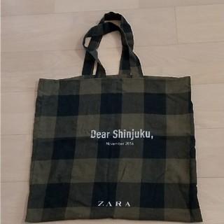 ザラ(ZARA)のZARA新宿店 リニューアルノベルティバッグ(エコバッグ)