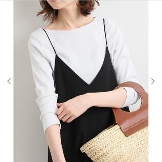 IENA - AURALEE/オーラリー  IENA 別注ボートネックTシャツ