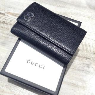 Gucci - GUCCI グッチ 6連キーケース ブラック