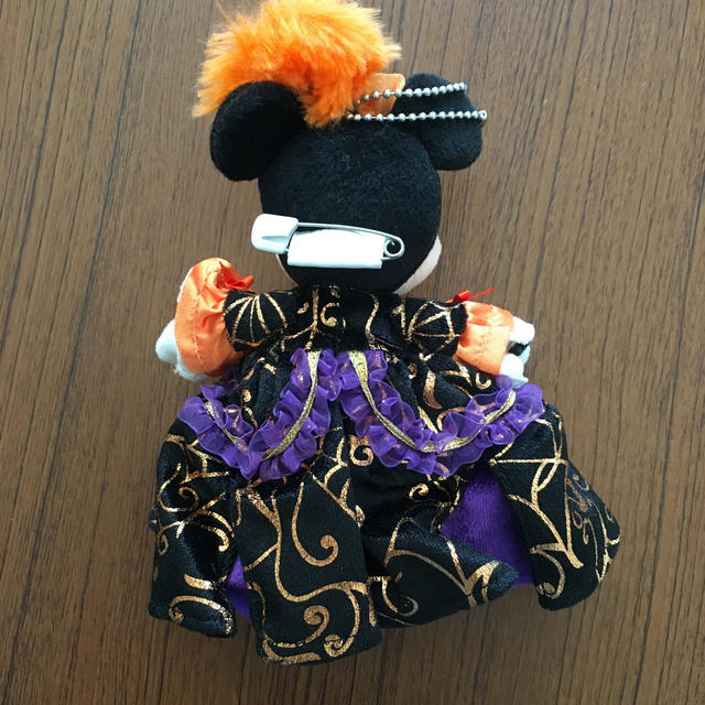 Disney(ディズニー)のぬいぐるみバッジ ミニー エンタメ/ホビーのおもちゃ/ぬいぐるみ(キャラクターグッズ)の商品写真