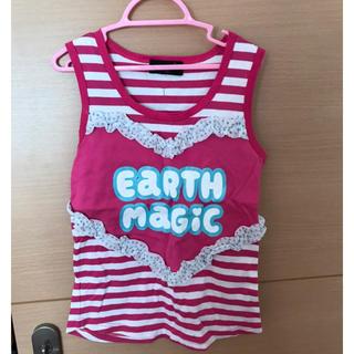 EARTHMAGIC - アースマジック  140 タンクトップ ピンク