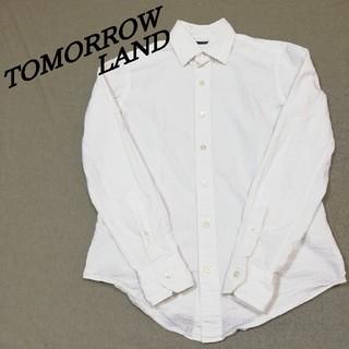 トゥモローランド(TOMORROWLAND)のトゥモローランド TOMORROWLAND 白シャツ(シャツ)