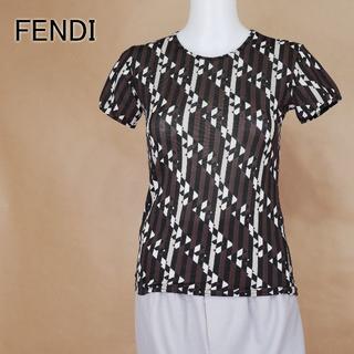 FENDI - FENDI フェンディ 44 ストレッチ 薄手生地 イタリア製 トップス