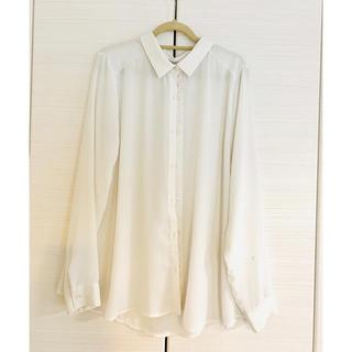 KBF - KBF てろてろ白シャツ