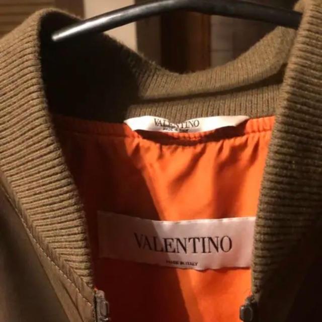 VALENTINO(ヴァレンティノ)のヴァレンティノ  ボンバージャケット 正規品 メンズのジャケット/アウター(ブルゾン)の商品写真
