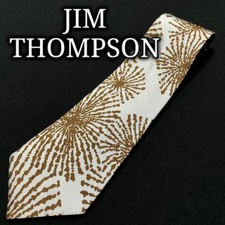 ジムトンプソン(Jim Thompson)のジムトンプソン デザインフラワー スカイブルー ネクタイ A103-R27(ネクタイ)