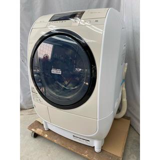 日立 - 2015年製 日立ドラム式洗濯乾燥機9.0kg 風アイロン BD-V3700L