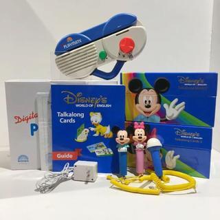 Disney - 【キレイ!】2018年購入!ディズニー英語システム 両面デジタルトークアロング