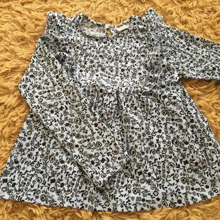 ザラキッズ(ZARA KIDS)のSALE‼️  ZARA Kids   小花柄カットソー  130(Tシャツ/カットソー)