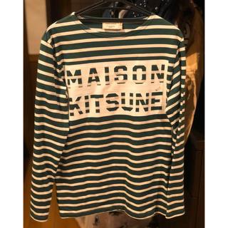 メゾンキツネ(MAISON KITSUNE')のメゾンキツネ ボーダー(Tシャツ/カットソー(七分/長袖))