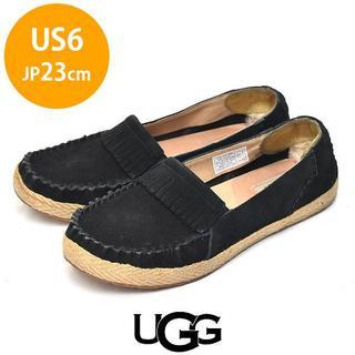 UGG - アグ フリンジ モカシン USA6(JP23cm)
