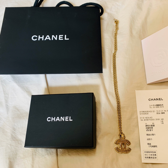 CHANEL(シャネル)のChanel ネックレス blackpink ジェニー 着用 レディースのアクセサリー(ネックレス)の商品写真