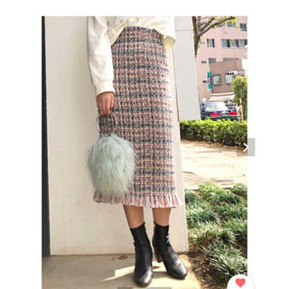 MERCURYDUO - マーキュリーデュオ ツイードタイトスカート