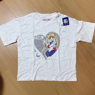 ジーユー(GU)のセーラームーン GUコラボTシャツ(Tシャツ(半袖/袖なし))