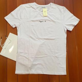 agnes b. - agnesb. チビログL白 アニエス・ベー半袖 Tシャツ