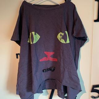 ゴートゥーハリウッド(GO TO HOLLYWOOD)のgotohollywood   big ネコT シャツ 130cm  140cm(Tシャツ/カットソー)
