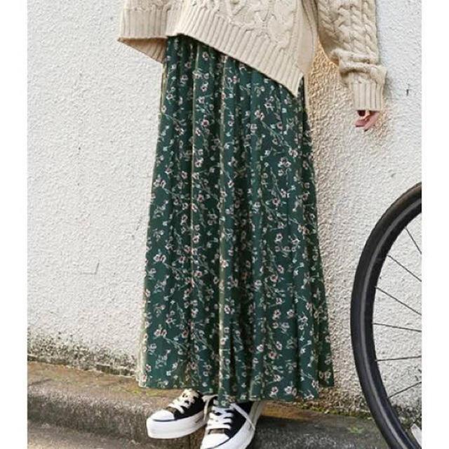 LOWRYS FARM(ローリーズファーム)の完売品 花柄スカート レディースのスカート(ロングスカート)の商品写真