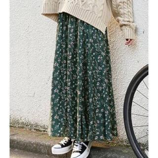 ローリーズファーム(LOWRYS FARM)の完売品 花柄スカート(ロングスカート)