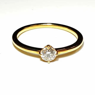 K18YGイエローゴールドダイヤモンドリング(リング(指輪))