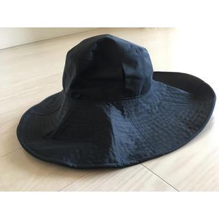 サンバリア100 ハット15 帽子 ブラック レディース