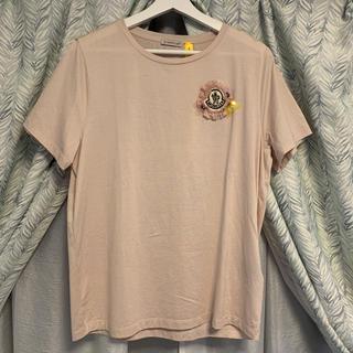 MONCLER - 国内正規品 モンクレール Tシャツ ベージュピンク