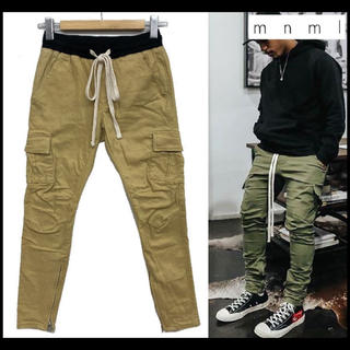 FEAR OF GOD - mnml stretch slim cargo pants  XS khaki