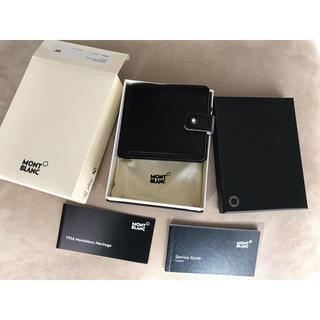 モンブラン(MONTBLANC)のMONT BLANC モンブラン サイフ 財布 新品未使用 送料込元値¥4.2万(折り財布)