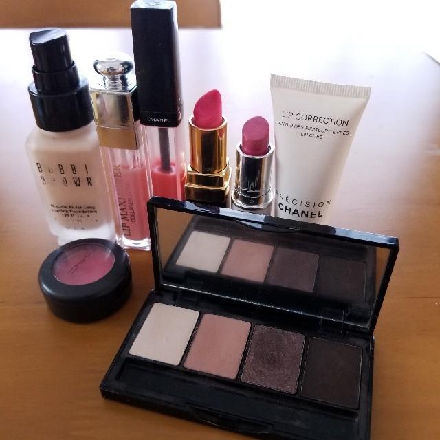 CHANEL(シャネル)の[USED品]メイクセット コスメ/美容のベースメイク/化粧品(リップグロス)の商品写真