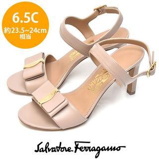 Salvatore Ferragamo - 新品❤サルヴァトーレフェラガモ リボン サンダル 6.5C(約23.5-24cm