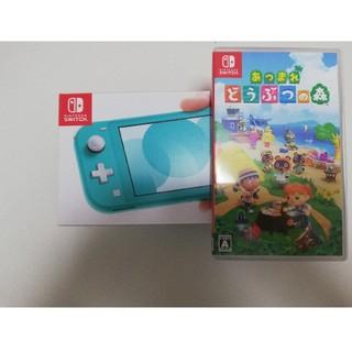 Nintendo Switch - 任天堂switchLite&あつまれどうぶつの森