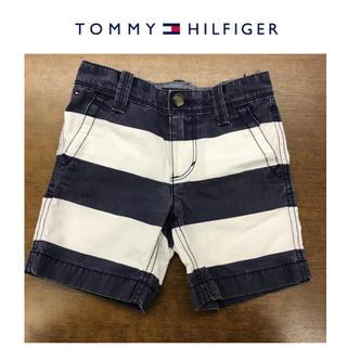 TOMMY HILFIGER - トミーヒルフィガー/Tommy★半ズボン/パンツ★ボーダー★4T/100
