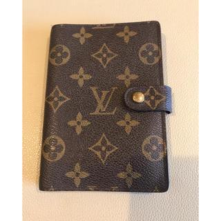 ルイヴィトン(LOUIS VUITTON)のLouis Vuitton システム手帳カバー モノグラム(パスケース/IDカードホルダー)