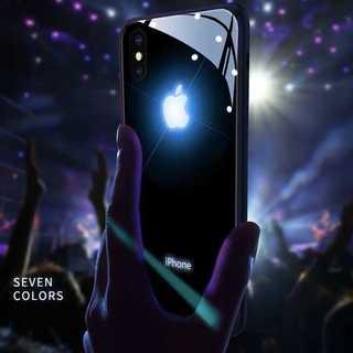 大好評!LED発光 6カラー 光るiPhoneケース ライト 点灯
