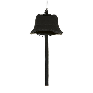 PEACEMINUSONE - PMO CANVAS BUCKET HAT #1 BLACK