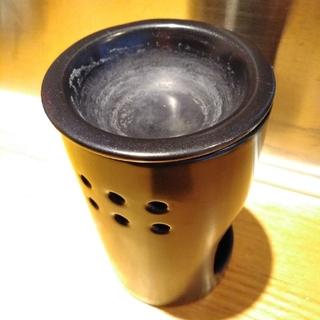 ムジルシリョウヒン(MUJI (無印良品))の無印 アロマ用キャンドル立て (アロマポット/アロマランプ/芳香器)